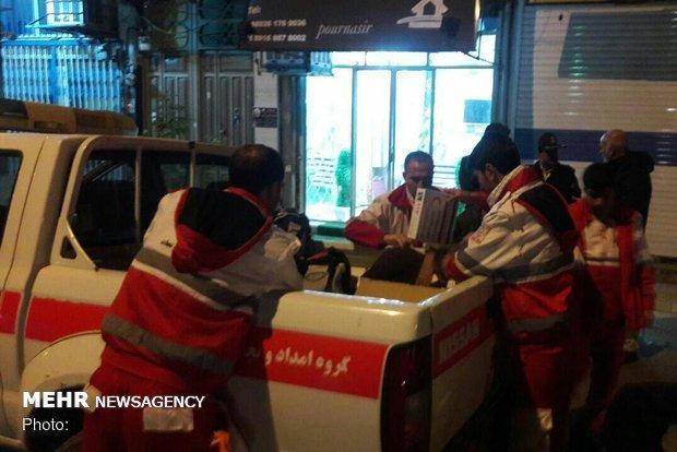 اعزام4 تیم امدادی از پلدختر برای نجات کوهنوردان گرفتار در کلماکره