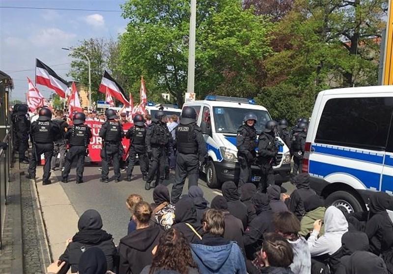 اعتراضات روز جهانی کارگر در شهرهای آلمان برگزار گردید