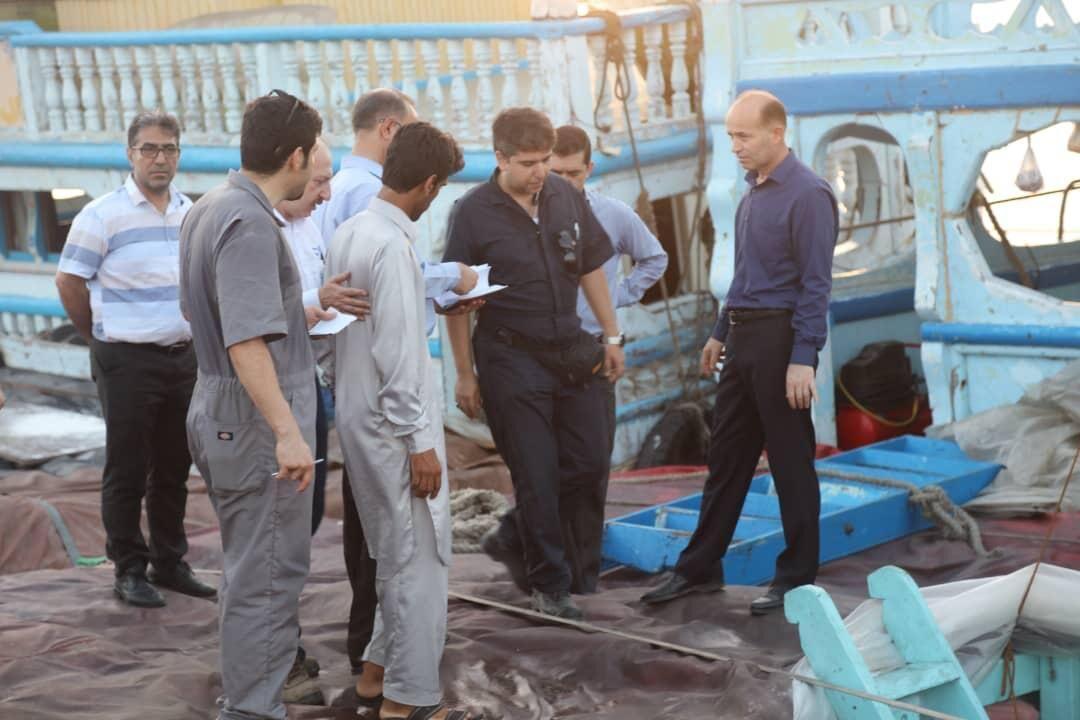 خبرنگاران تیم های عملیاتی بندرچابهار در برابر حوادث دریایی آماده هستند