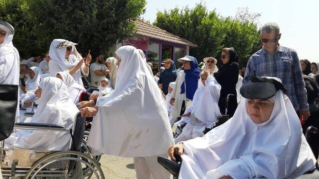 برگزاری جشن عید قربان در آسایشگاه خیریه کهریزک