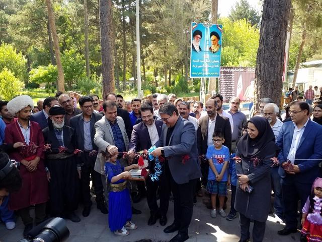 دوازدهمین نمایشگاه سراسری صنایع دستی در کرمانشاه گشایش یافت
