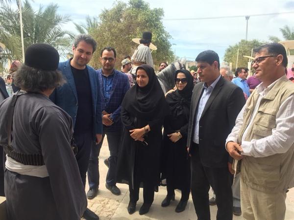 معاون سرمایه گذاری سازمان میراث فرهنگی از فرصت های سرمایه گذاری در شهرستان تنگستان بازدید کرد