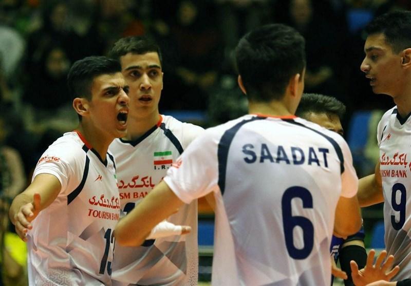 فزونی نوجوانان والیبال ایران برابر برزیل