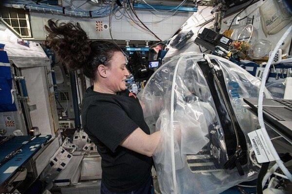 سیمان در فضا تولید شد، محافظت در برابر اشعه های فضایی