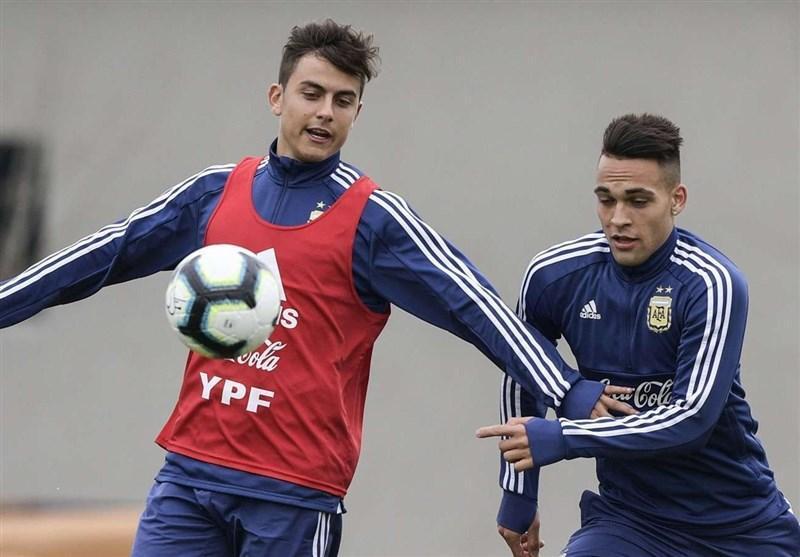 دیبالا و مارتینس در ترکیب اصلی آرژانتین مقابل آلمان بازی می نمایند