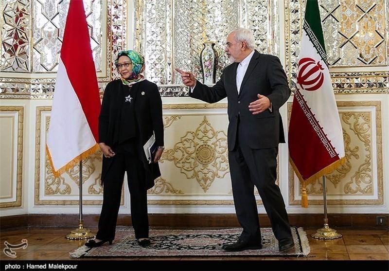 رایزنی وزرای خارجه ایران و اندونزی