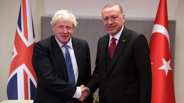 نخست وزیر انگلیس از اردوغان خواست به جنگ سرانجام دهد