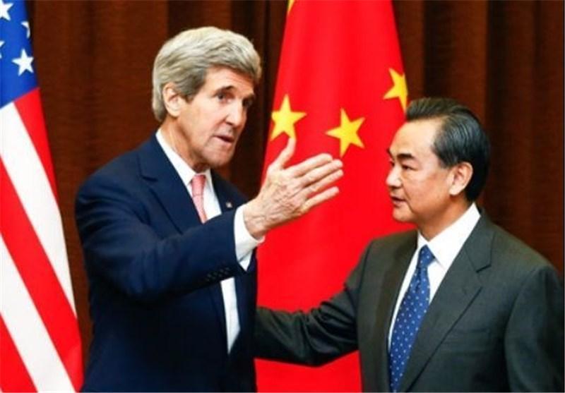 هشدار کری به پکن نسبت به ایجاد منطقه دفاعی بر فراز دریای چین جنوبی