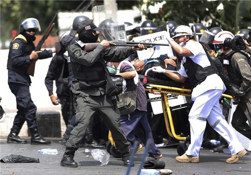 2 کشته در جریان اعتراضات ضد دولتی تایلند