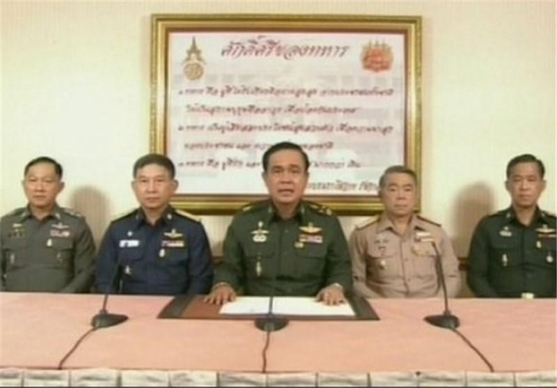 پادشاه تایلند فرمانده ارتش را به عنوان رئیس دولت نظامی منصوب کرد