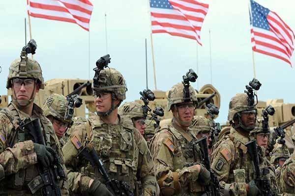 نظامیان آمریکایی در صحرای الانبار جولان می دهند