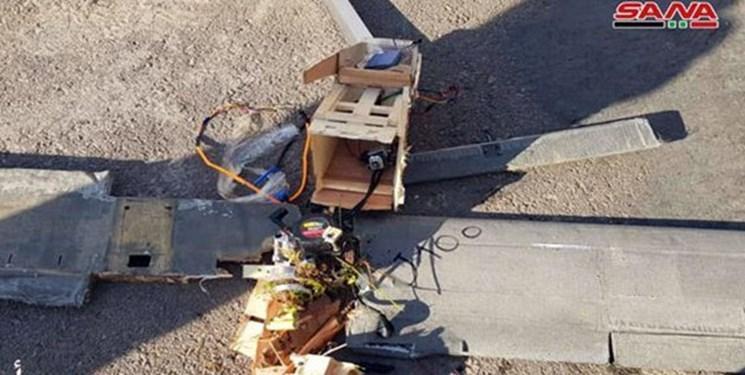 سرنگونی پهپاد حامل بمب تروریست ها در حومه حماه