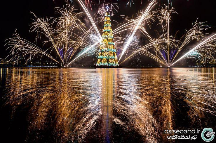 با شکوه ترین درخت های کریسمس 2014