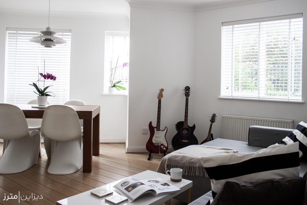 احیای آپارتمانی در لندن توسط دو معمار خوش ذوق