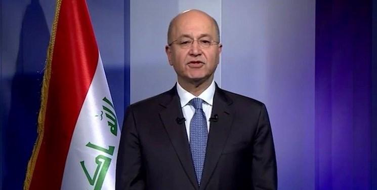برهم صالح: عراقی ها برای داشتن کشوری مستقل که مورد تجاوز قرار نگیرد پافشاری می نمایند