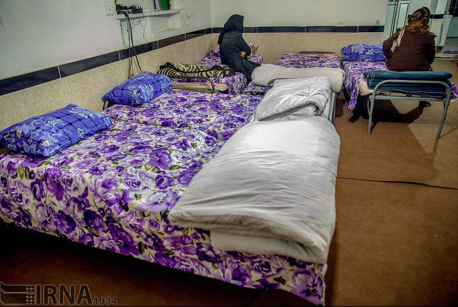 مبارزه با کرونا در گرمخانه های قزوین