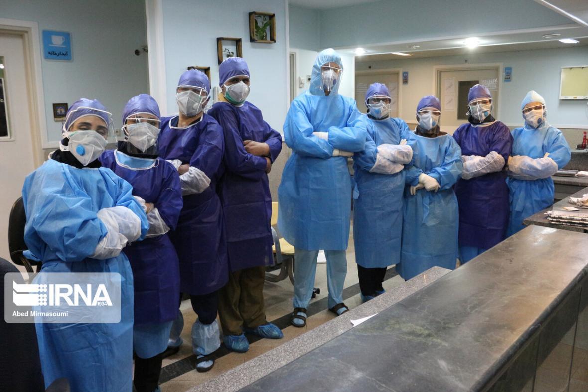 خبرنگاران پرستاران بیماران کرونایی بجنورد به قرنطینه رفتند