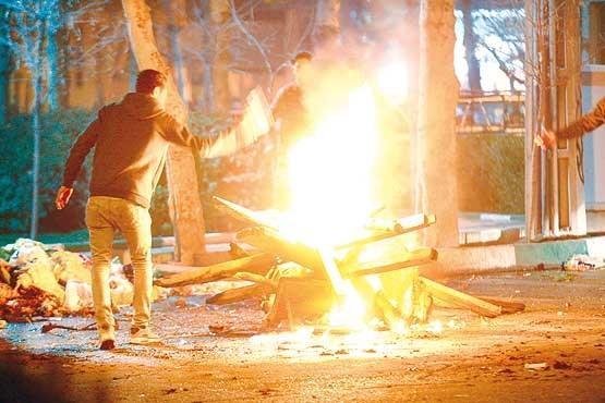 برخورد پلیس با منتشرکنندگان فراخوان برگزاری مراسم چهارشنبه سوری