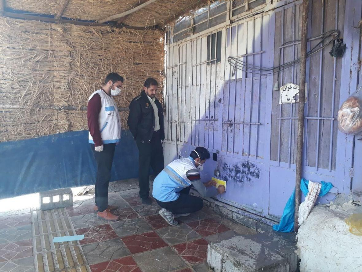 خبرنگاران 50 واحد صنفی کالاهای غیرضروری در خرم آباد پلمب شد