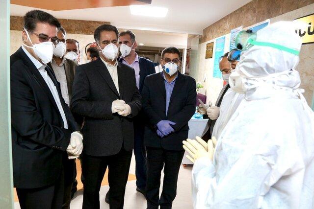 پیگیری برای صدور پروانه رسمی بهره برداری از بیمارستان پارسیان شهرکرد