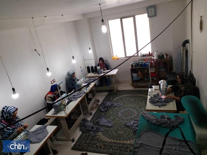 فراوری 35هزار ماسک و لباس ایزوله در کارگاه های صنایع دستی البرز
