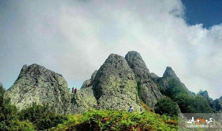 قله اسپیناس؛ نماد طبیعت زیبای آستارا، عکس