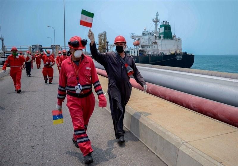 نیویورک تایمز: ونزوئلا ورود نفتکش های ایران را جشن گرفت