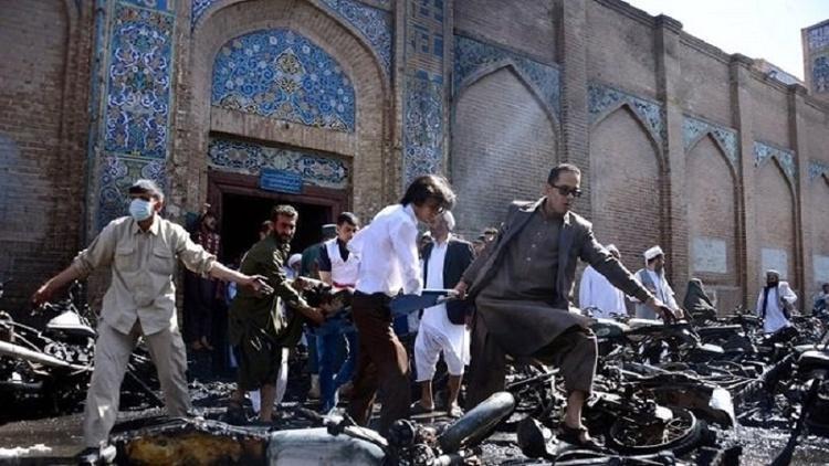 حمله انتحاری به مسجدی در افغانستان