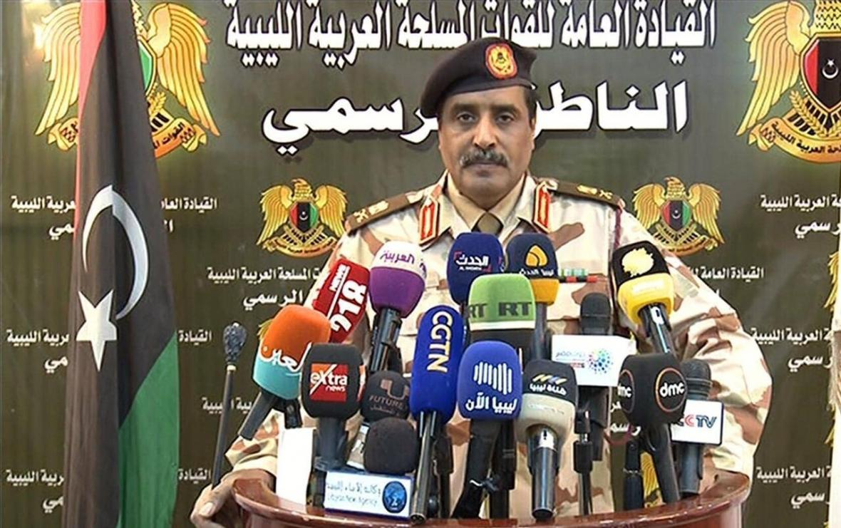 خبرنگاران المسماری: ترکیه از موشک های تام هاوک آمریکا در لیبی استفاده می نماید