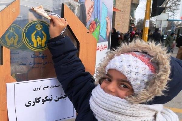 خبرنگاران 32 پایگاه جشن نیکوکاری در آستارا دایر شد