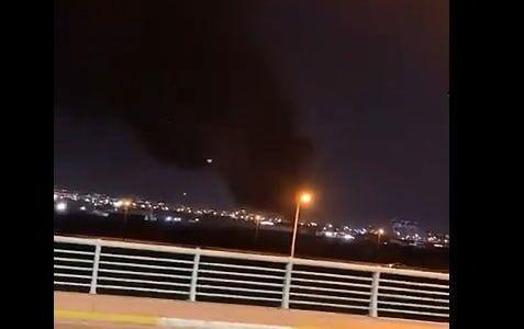 خبرنگاران بیانیه ائتلاف بین المللی درباره حمله به اطراف فرودگاه اربیل