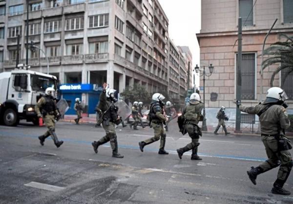 درگیری و ناآرامی در اعتراضات علیه خشونت پلیس در یونان