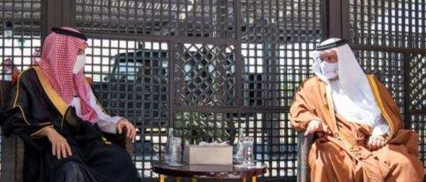 ملاقات ولیعهد بحرین و وزیر خارجه عربستان در منامه