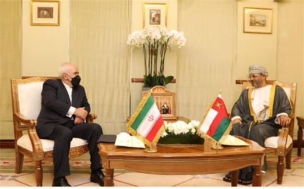 ظریف با وزیر امور خارجه عمان ملاقات کرد