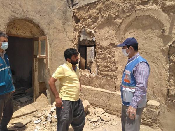 حمایت معیشتی از مددجویان زلزله زده گناوه