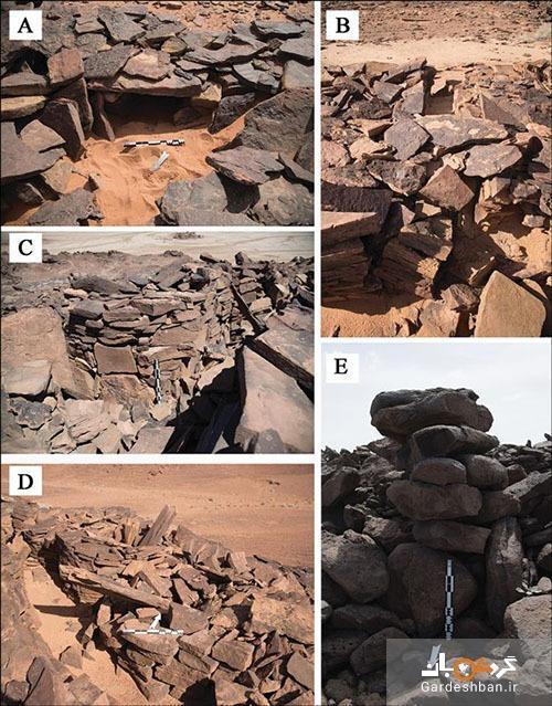 بنا های سنگی مرموز در بیابان های عربستان قدیمی تر از اهرام مصر
