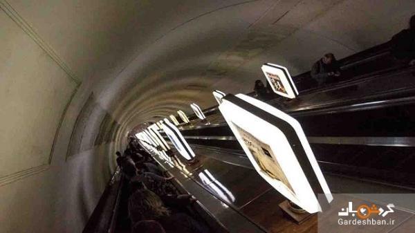 ایستگاه مترو آرسنالا،، عمیق ترین ایستگاه متروی دنیا