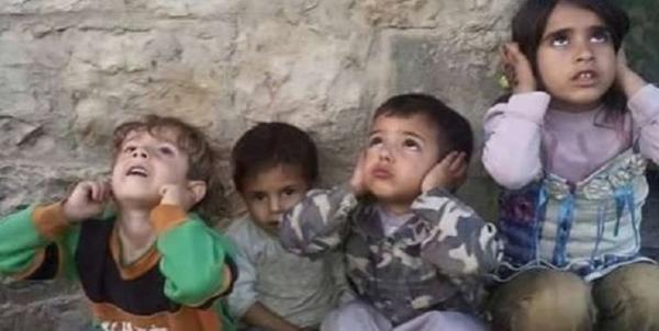 تجمع بچه ها یمنی مقابل دفتر سازمان ملل در صنعاء در اعتراض به تصمیم گوترش