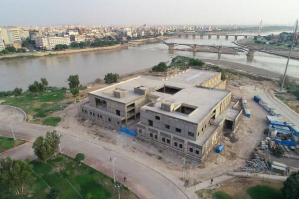 ساخت موزه منطقه ای خوزستان به مرحله نماکاری رسید